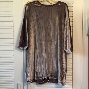 Zara velour T-shirt